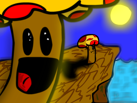 Mushy the Mushroom Man