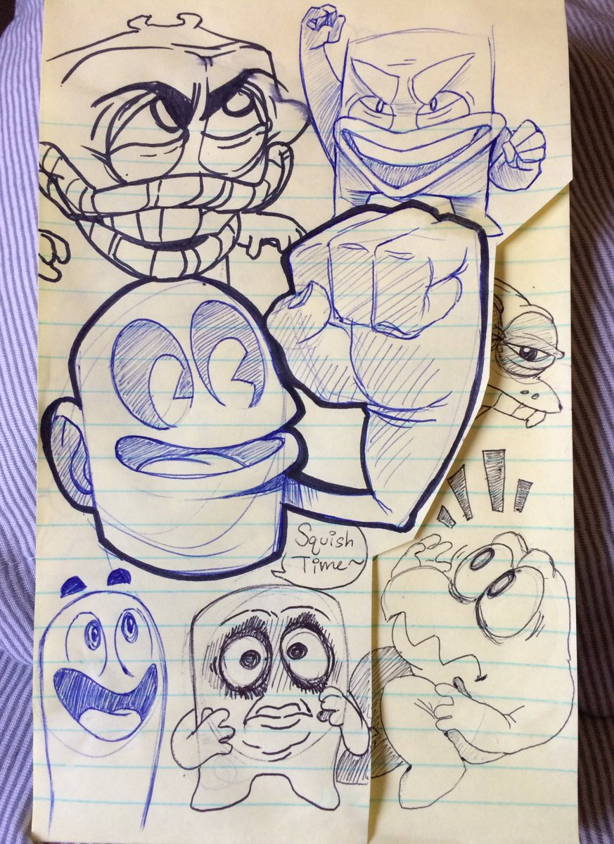 Overlapping sketches