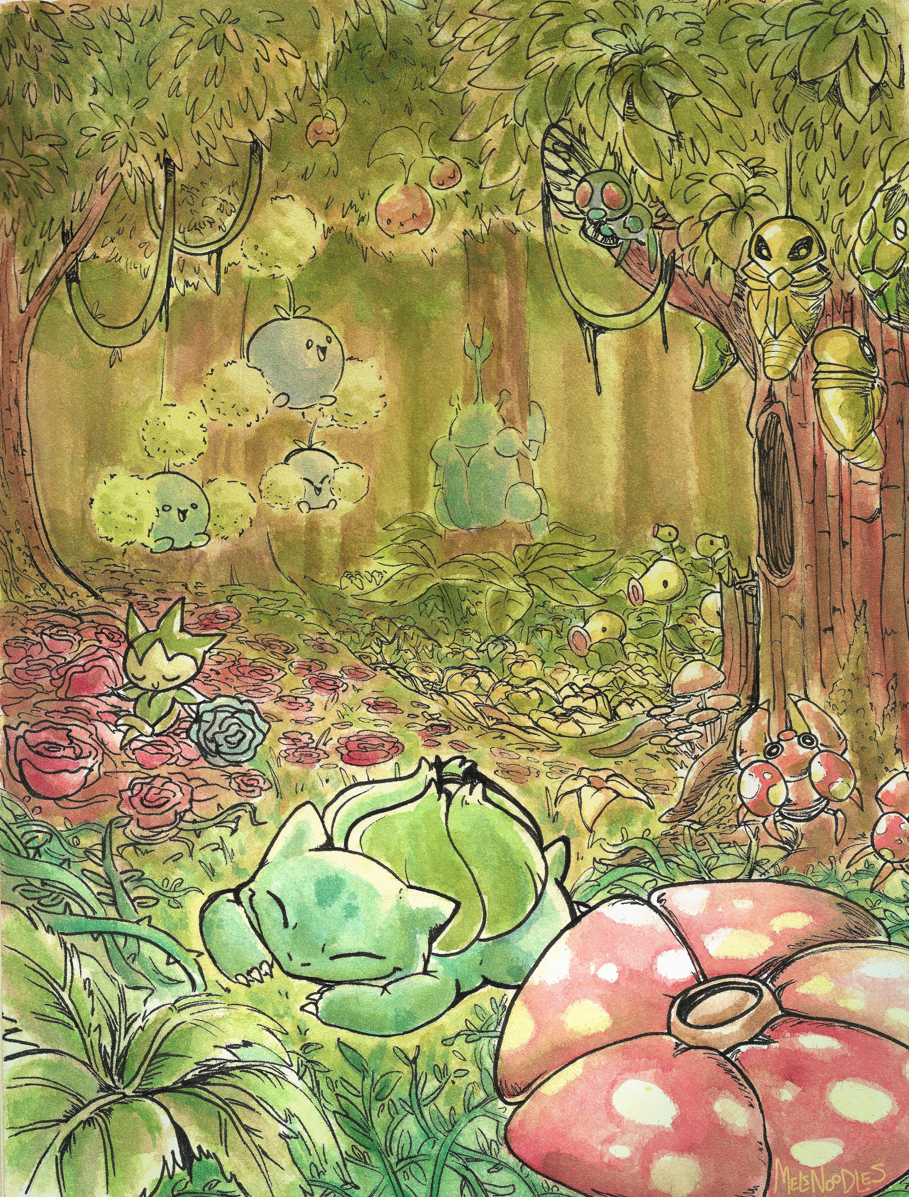 Pokemon Forest