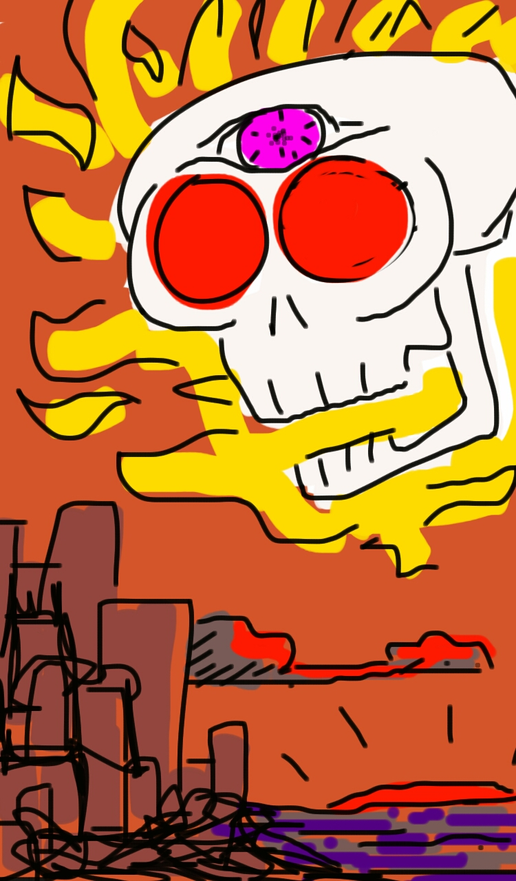 Skull Attacks City