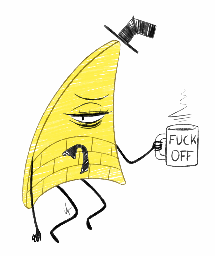 Bill Cipher in the Morning