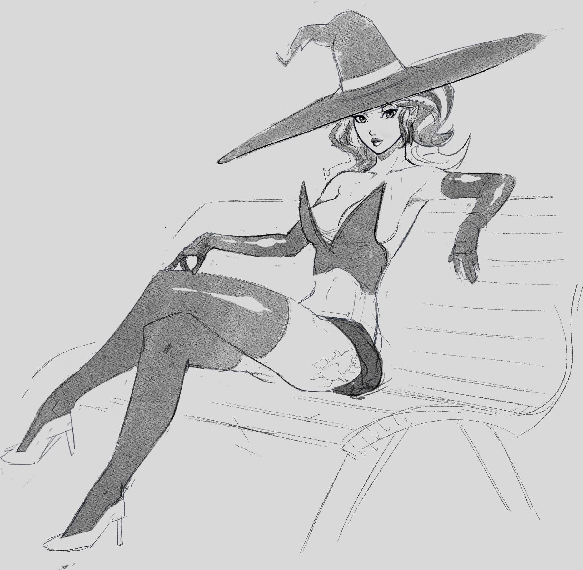 Sunset Witch