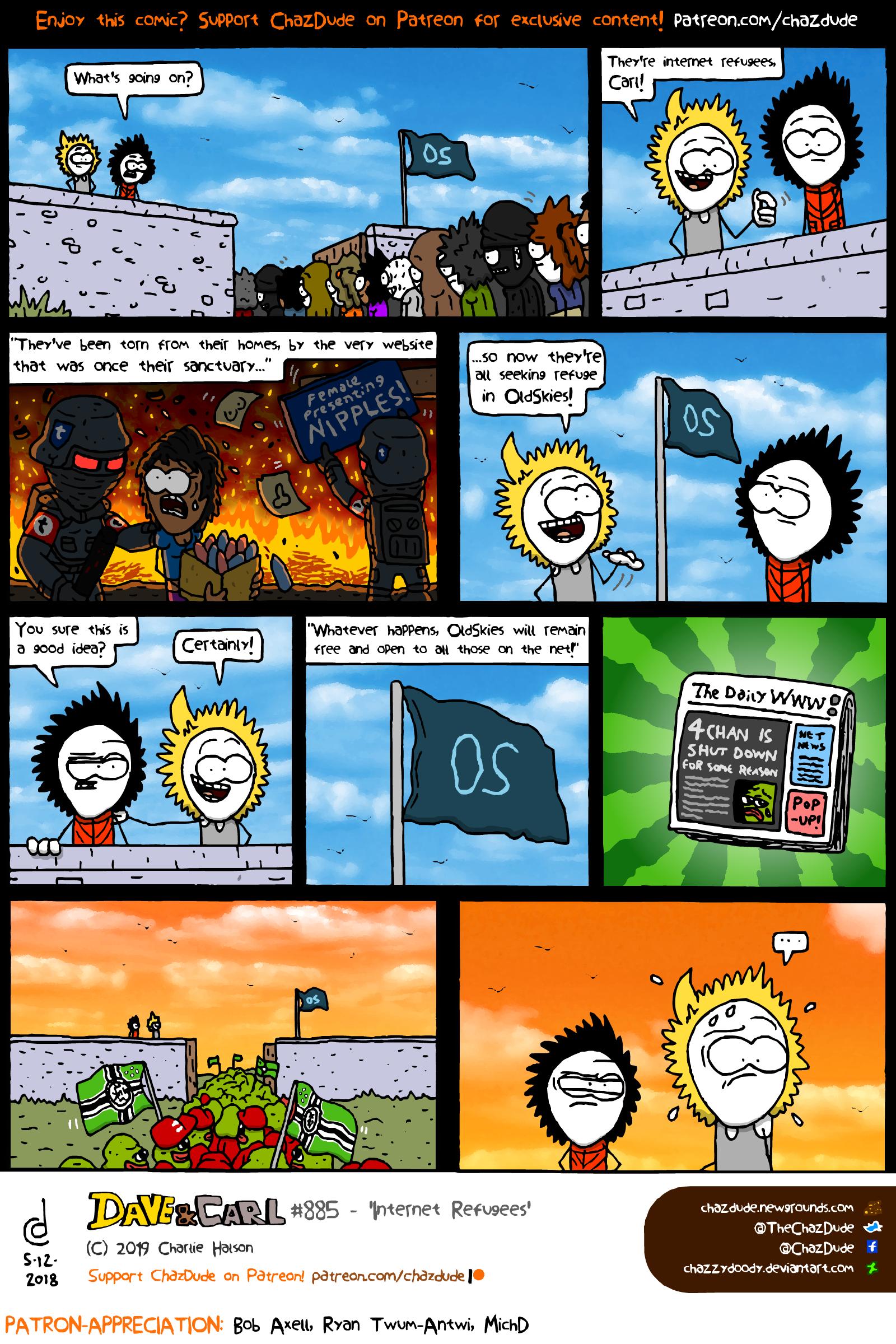 Internet Refugees