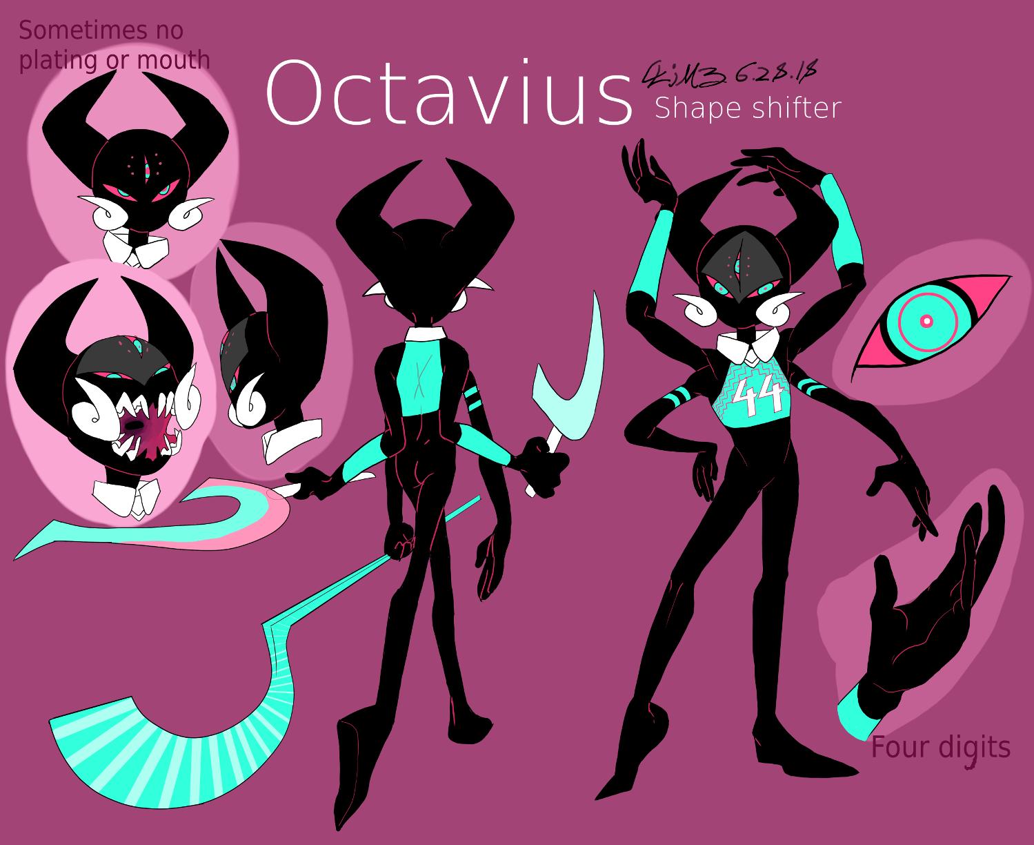 octavius refrence sheet