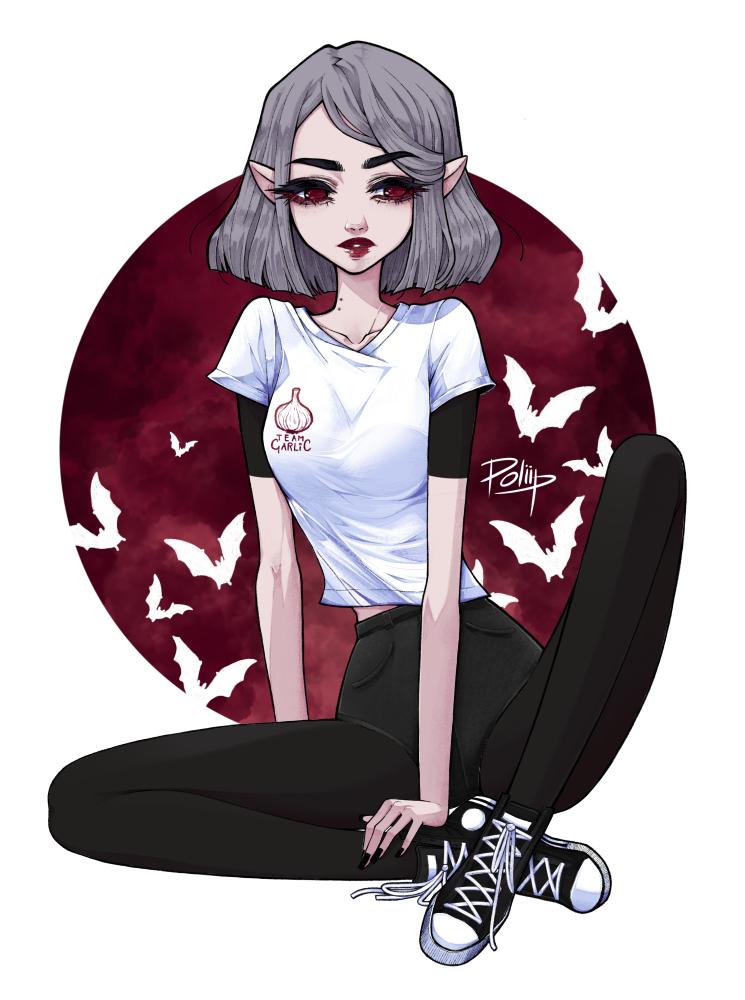 vampire girl again