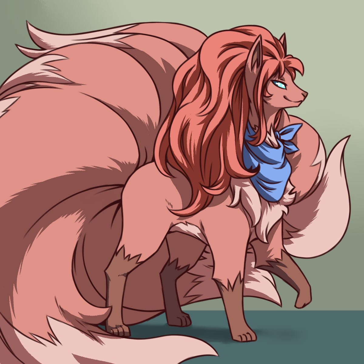 Harkness Ninetails (the Select Your Partner Vulpix)
