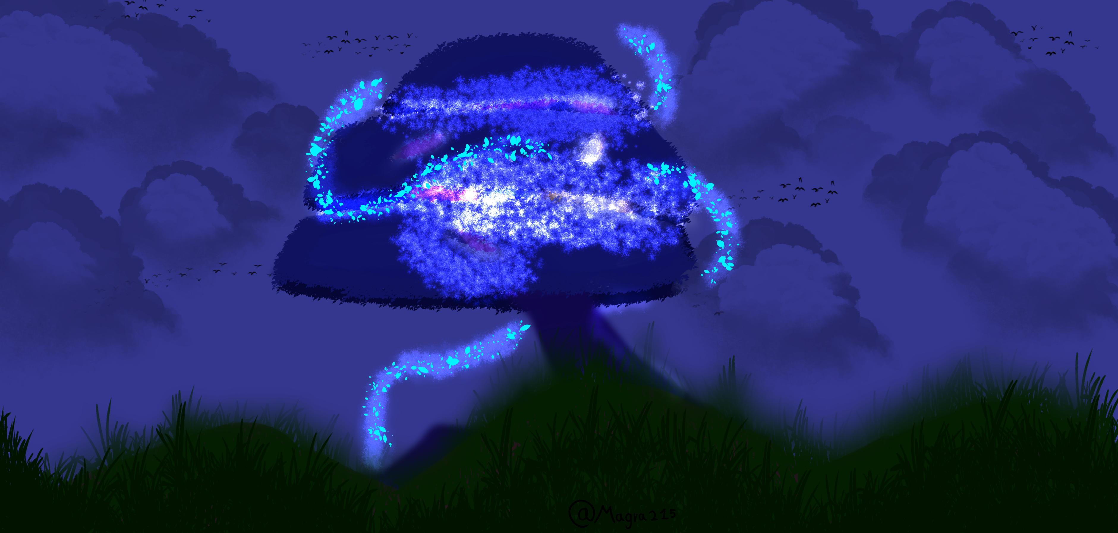 Lantern Tree (night time)