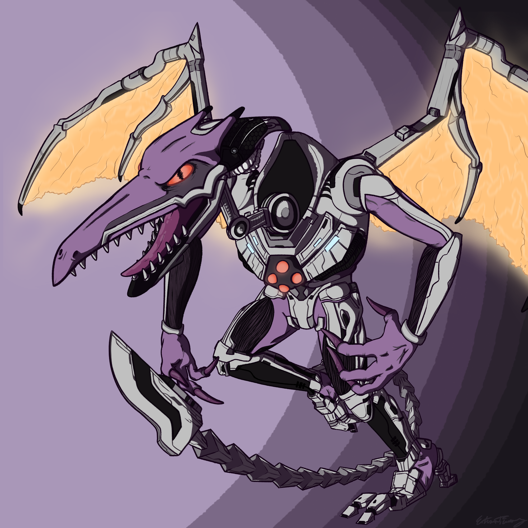 Meta Ridley! - Commission