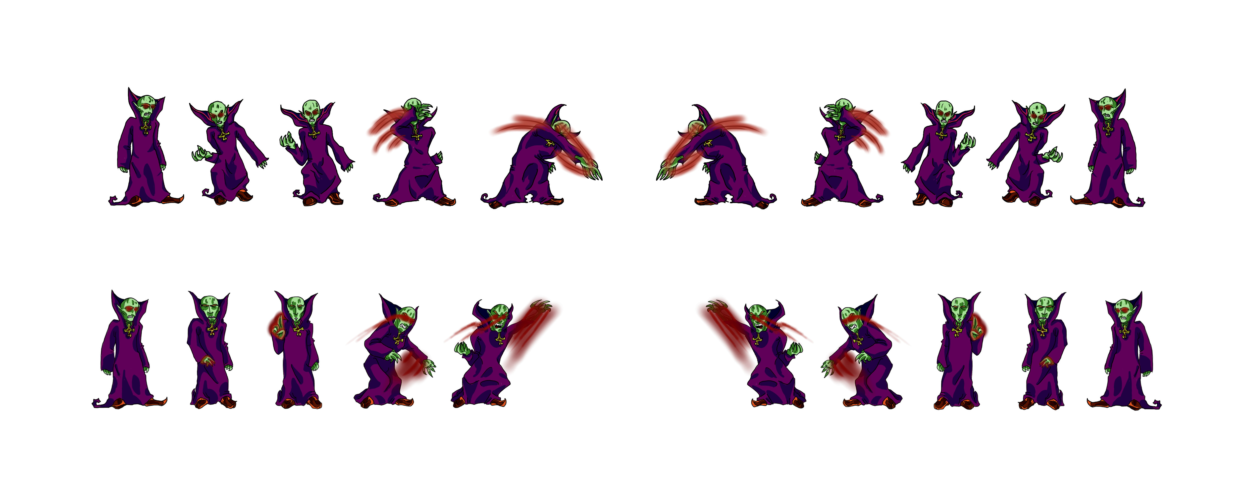Vampire King Punch Sprite [Videogame proyect]