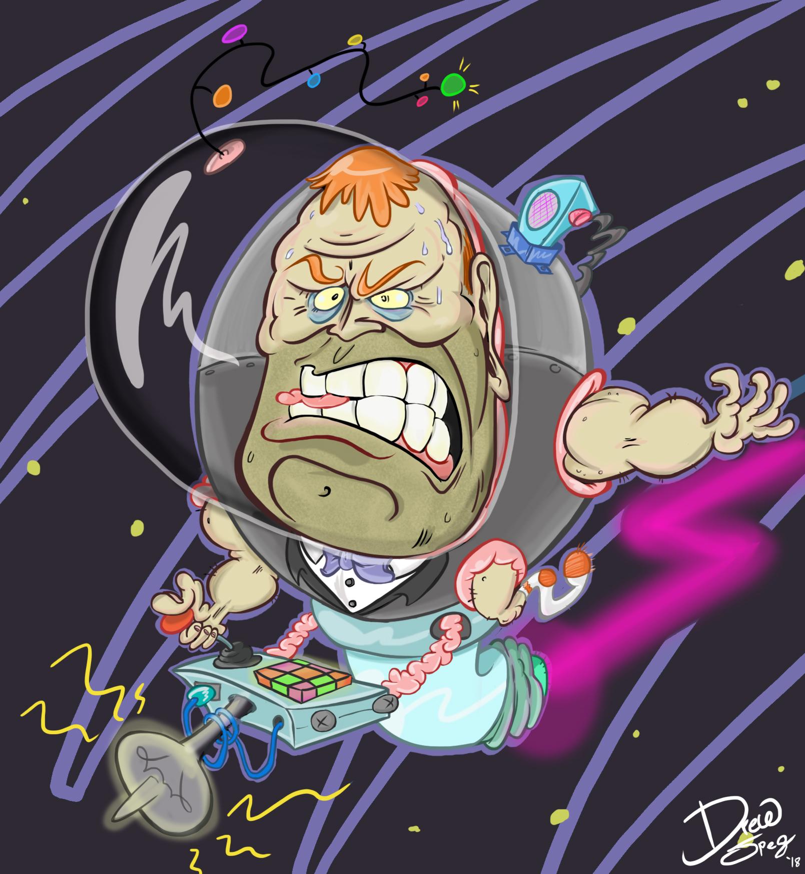 Space Man Steve