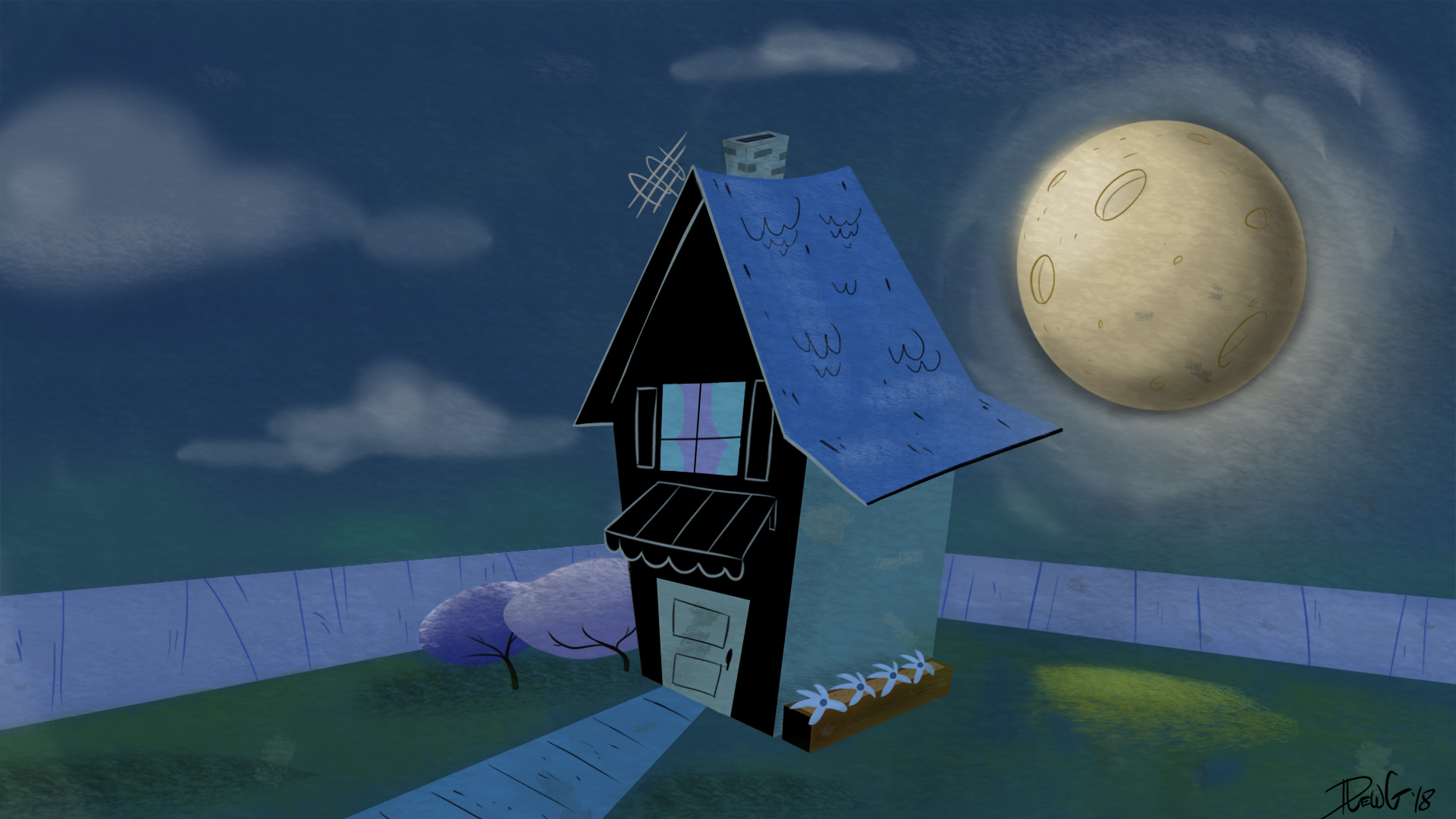 A House at Night