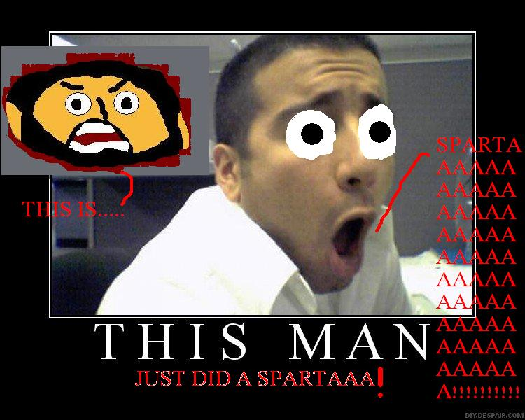 this man just did a sparta!