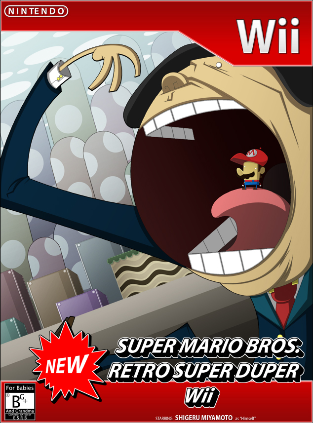 Nintendo Game Cover Thing