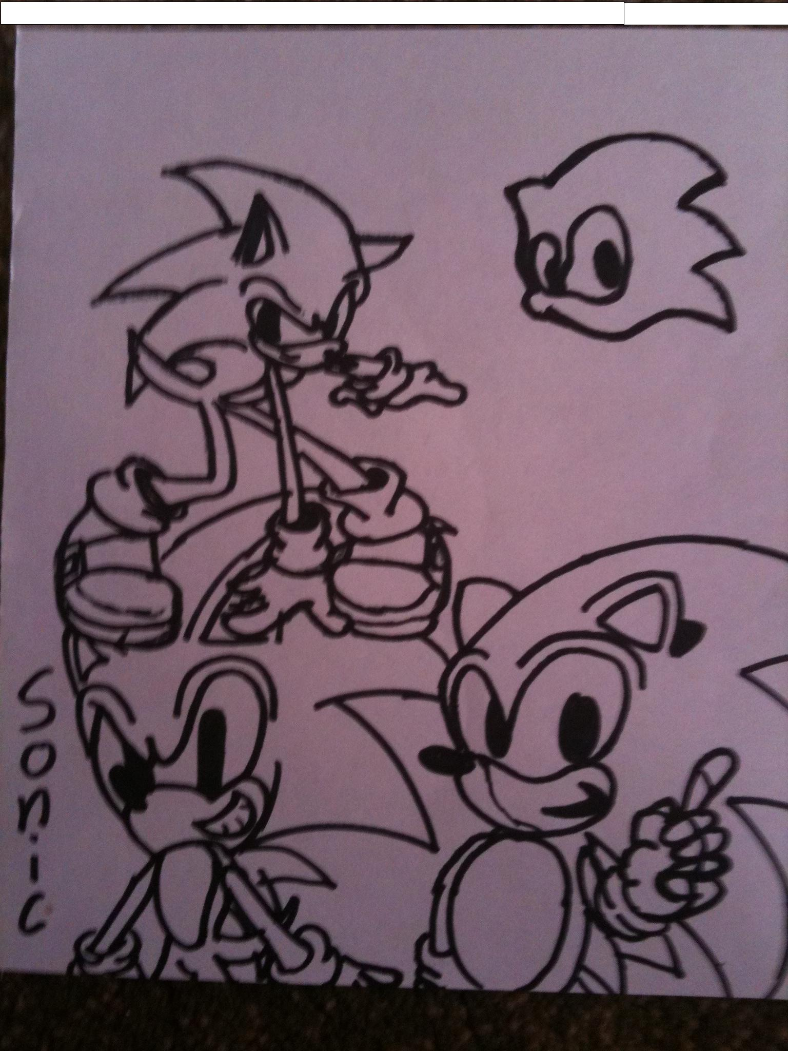 sonic and somic and sonic!!!!!