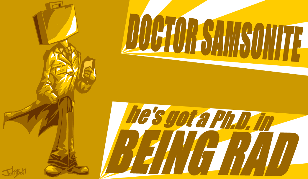 Dr. Samsonite