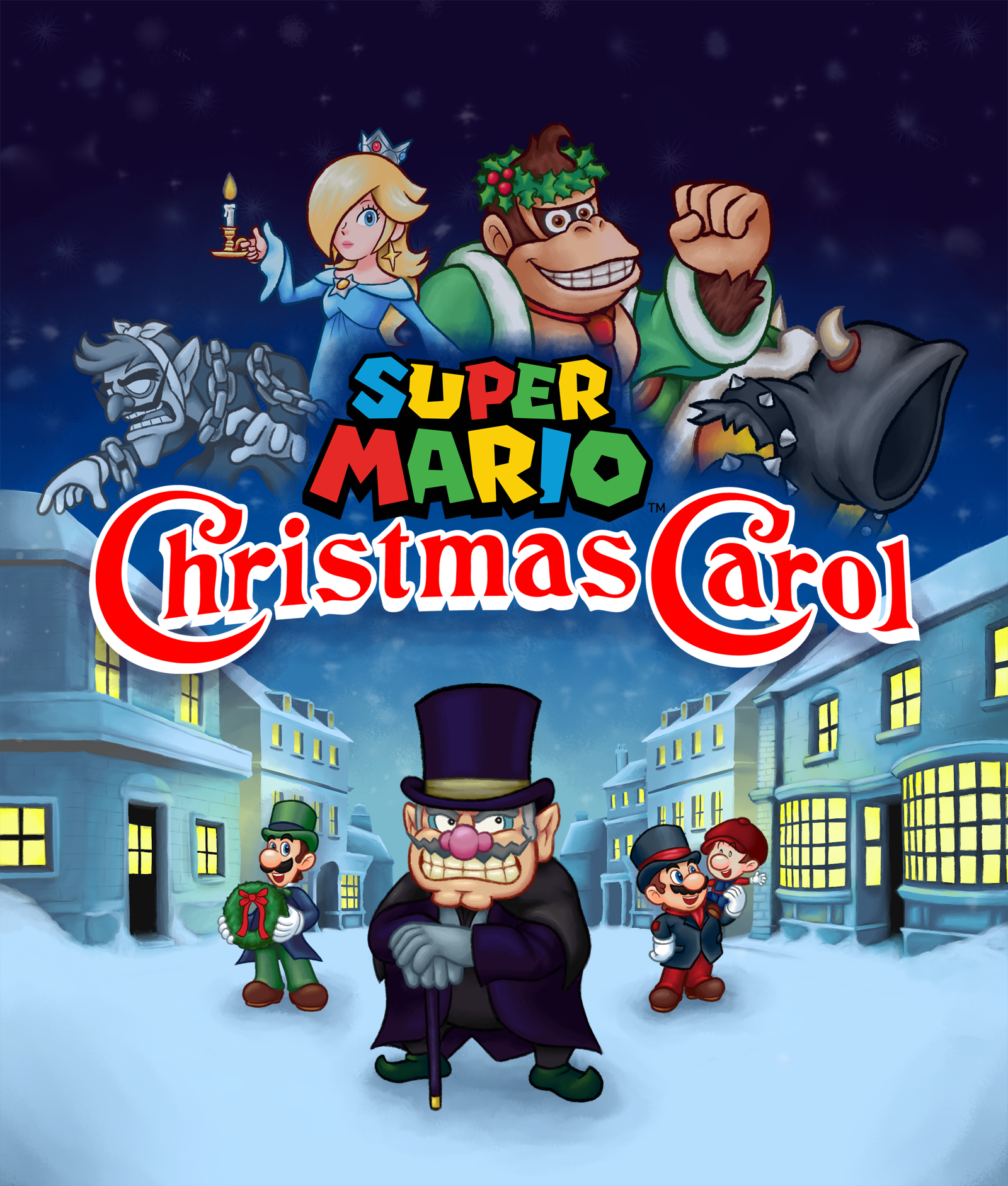 Super Mario Christmas.Super Mario Christmas Carol By P Fritz On Newgrounds