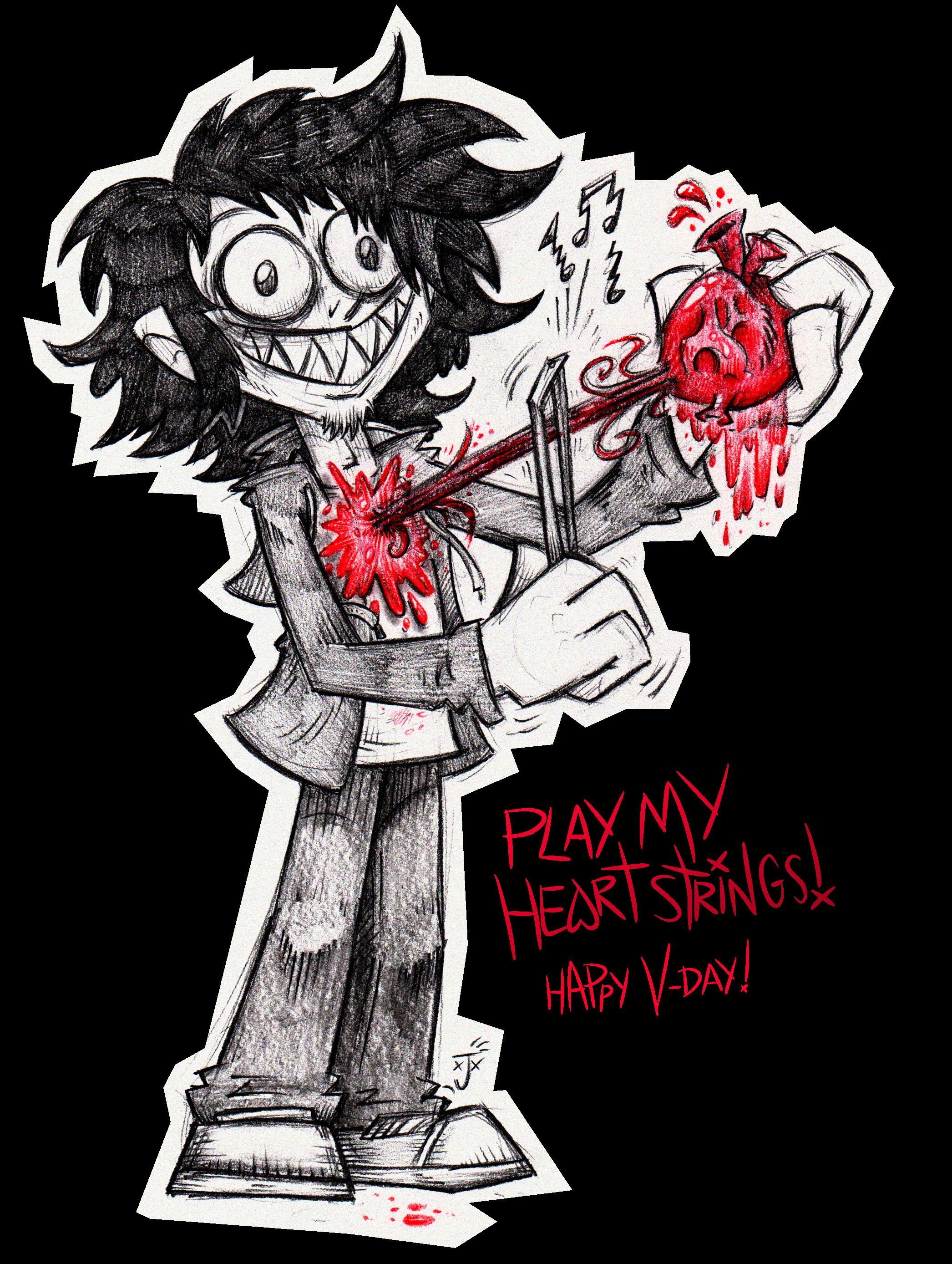 Play My Heartstrings! V-DAY CARD