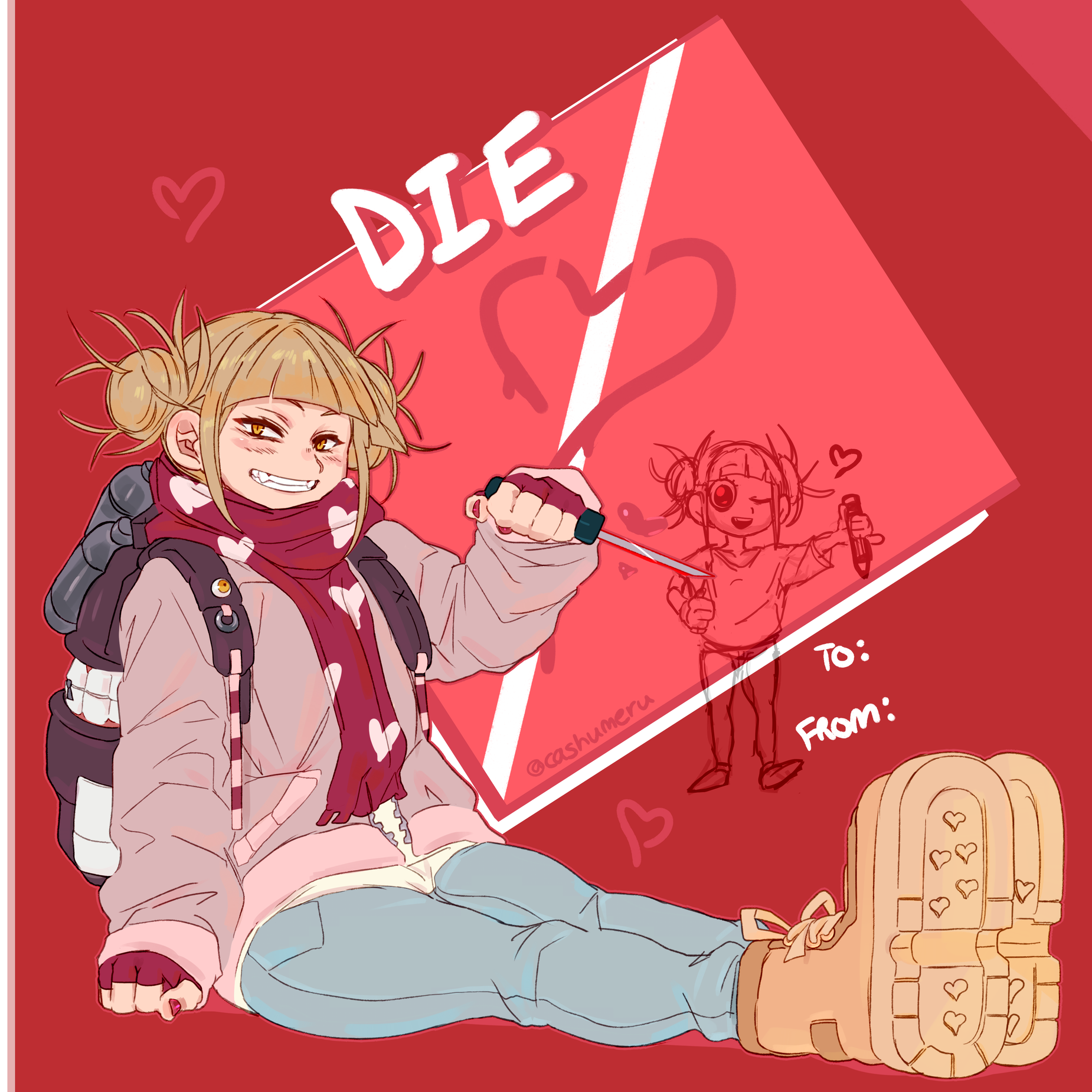 Toga Valentines Day