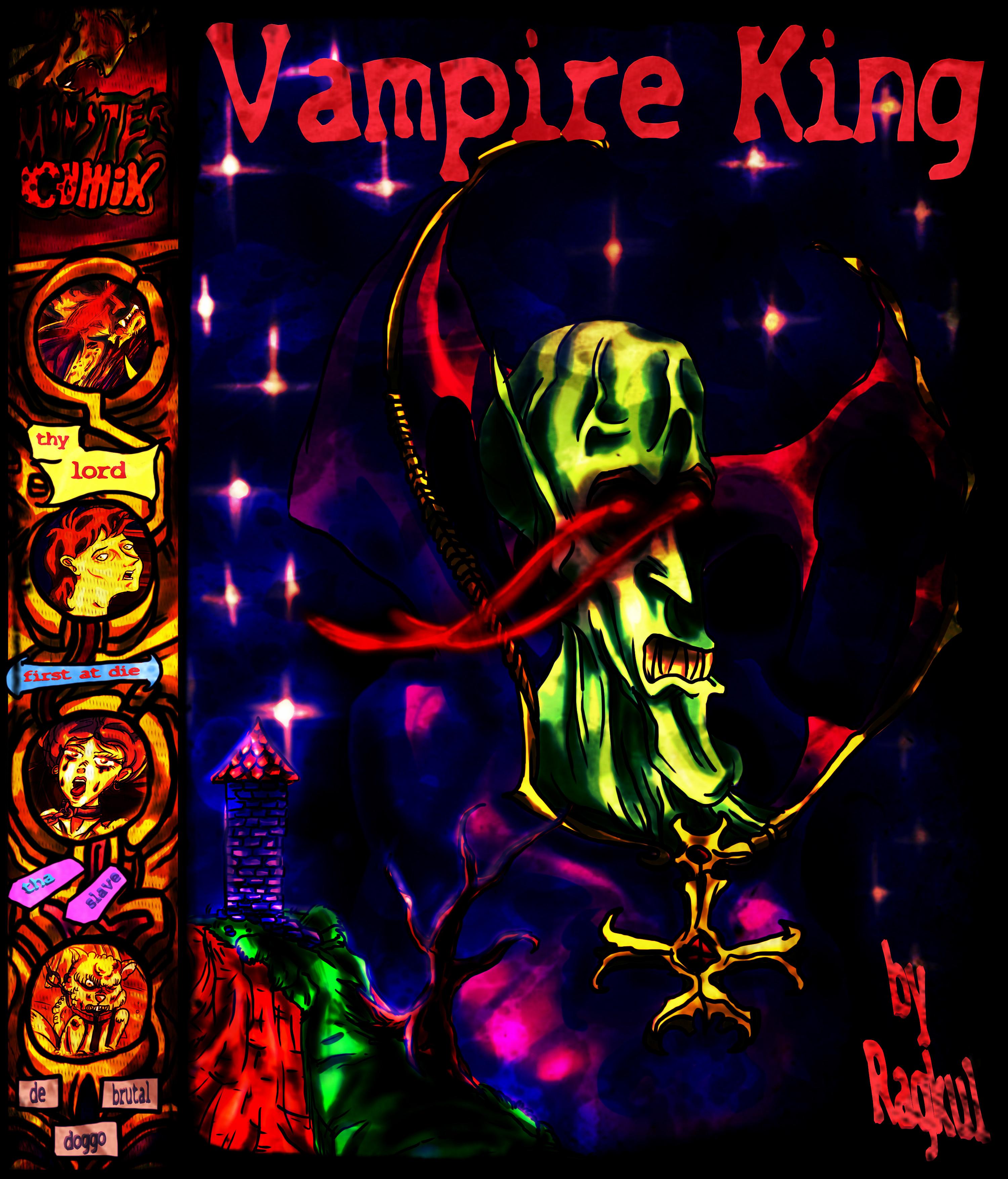 Summer Vampire King [comic cover]
