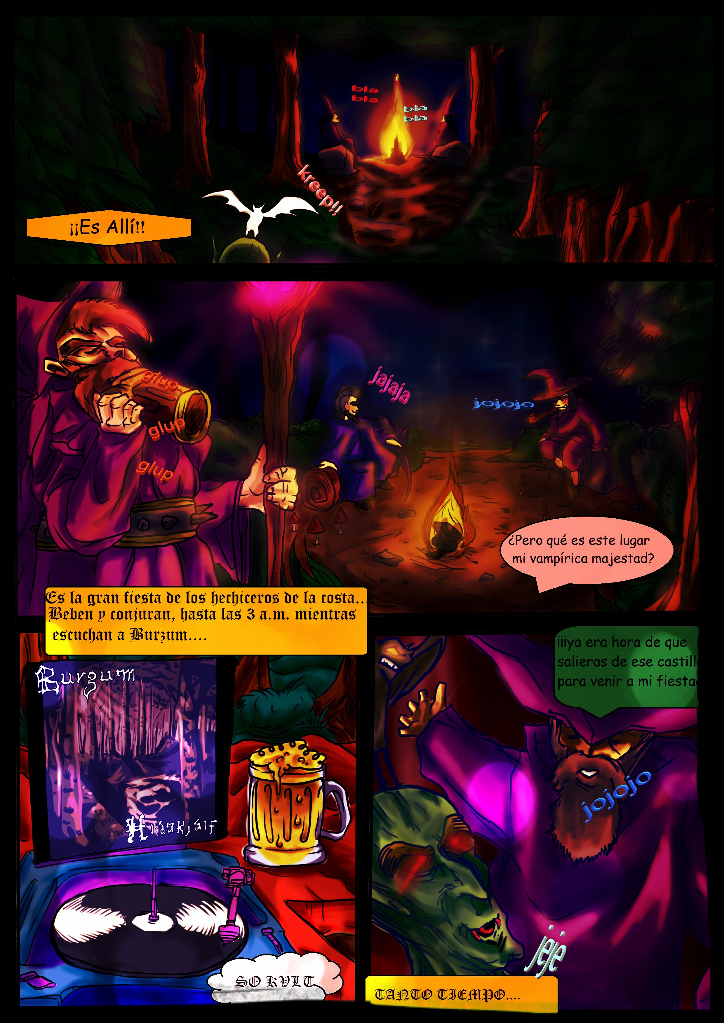 Summer (Vampire) King [page 4]