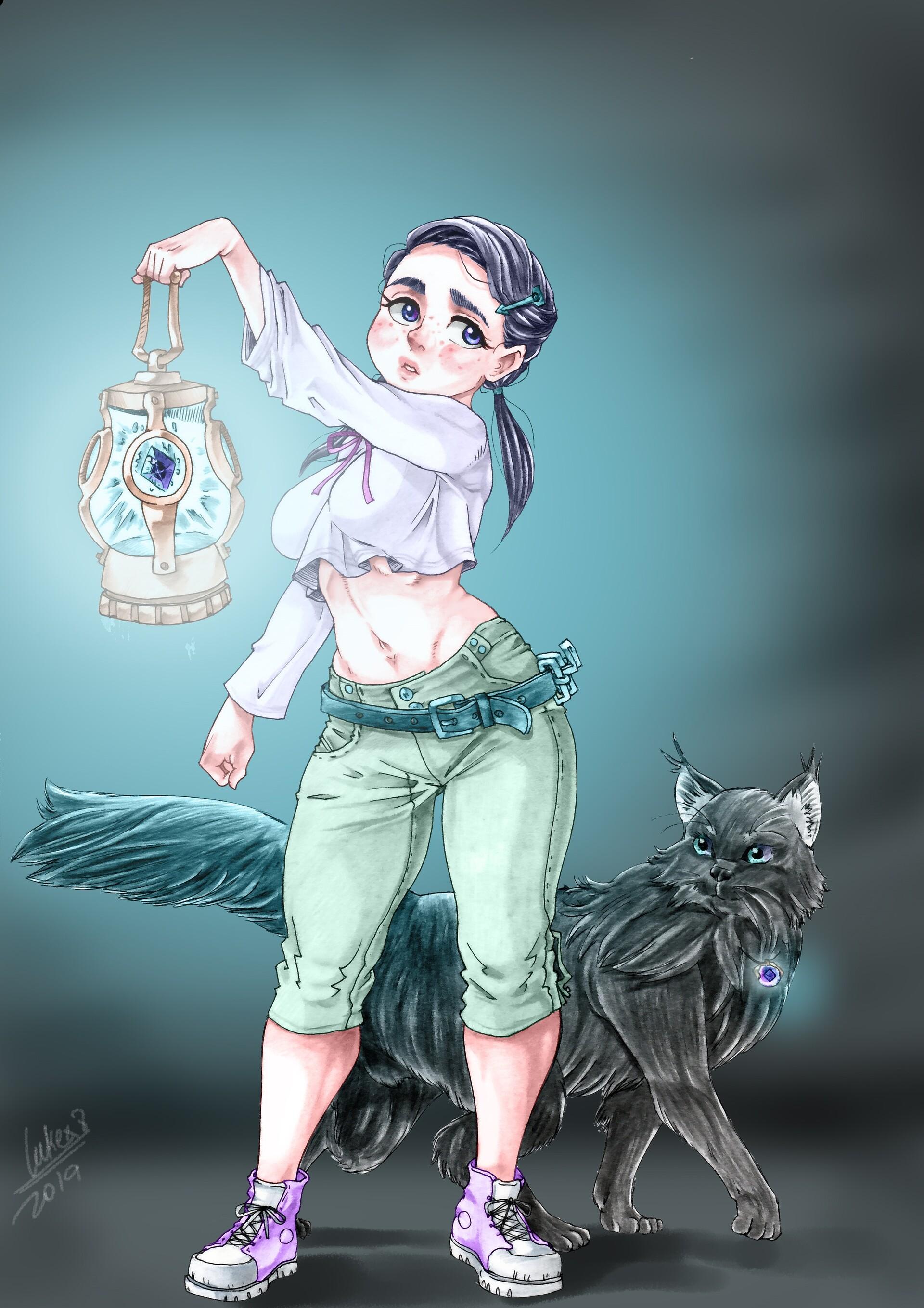 Sam illustration color 001
