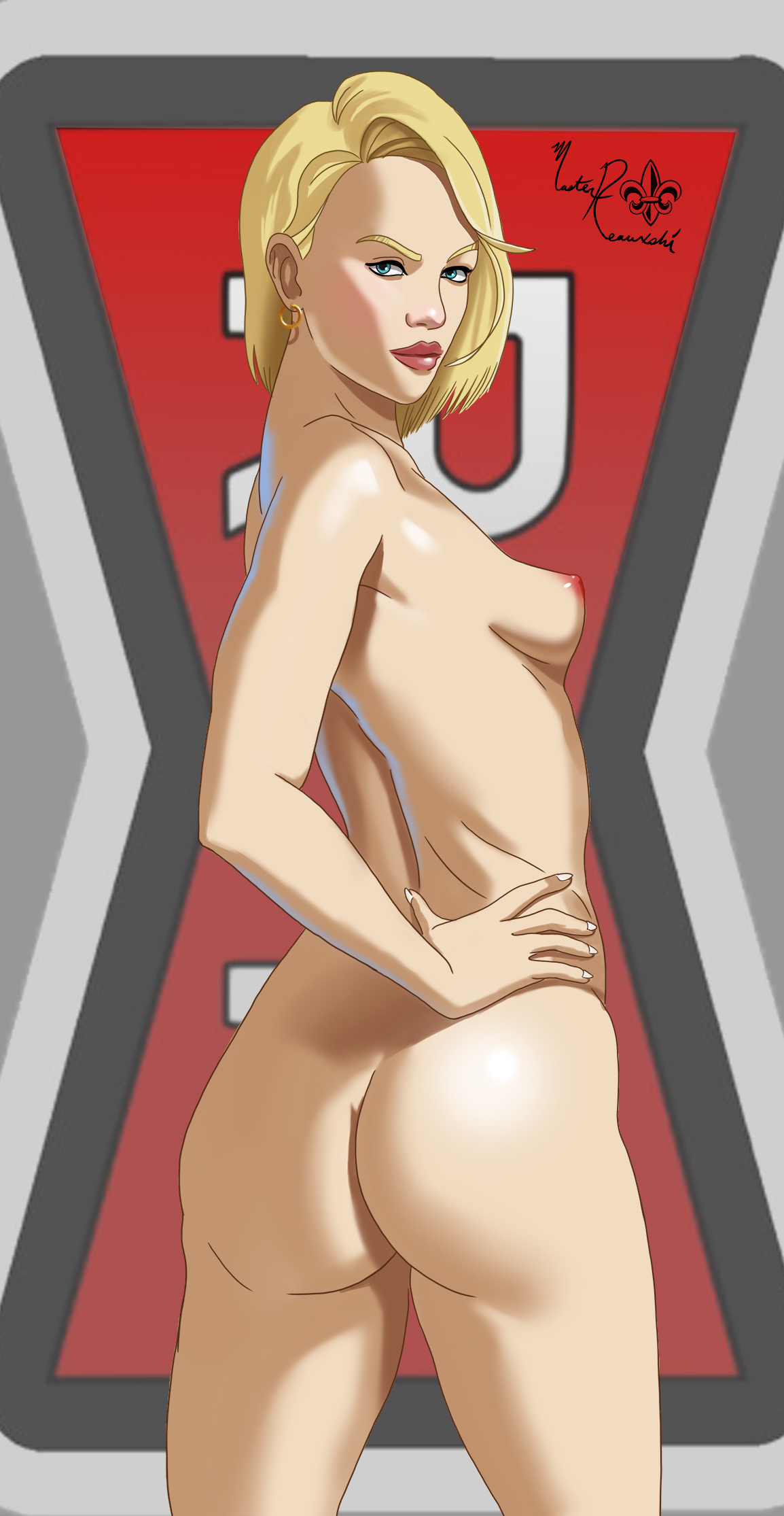 Android 18 Nude android 18 nudemasterreauxshi on newgrounds