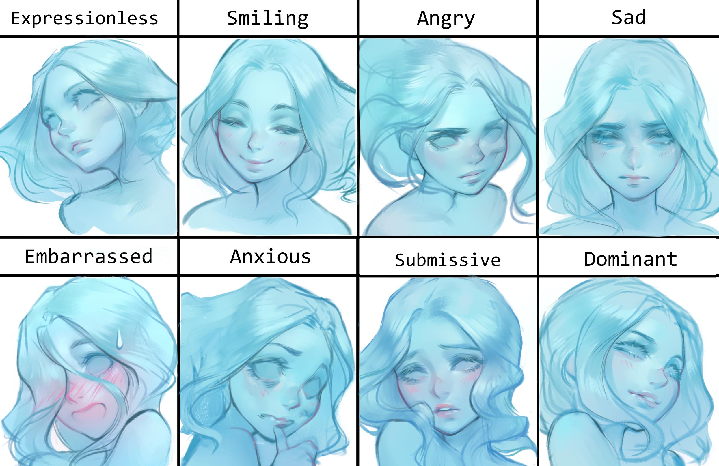 Lich (OC) expressions