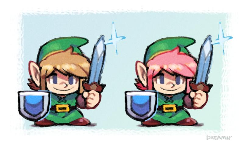 thinkin about 2D Zeldas
