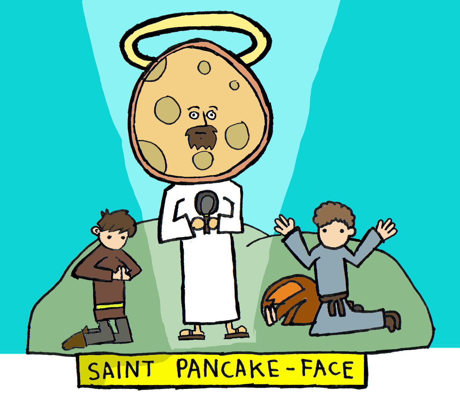 Saint Pancake-Face
