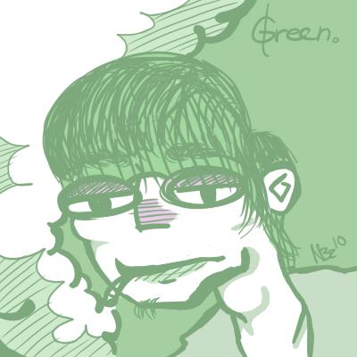 Green: Vinny B.