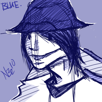 Blue: Capped Cool