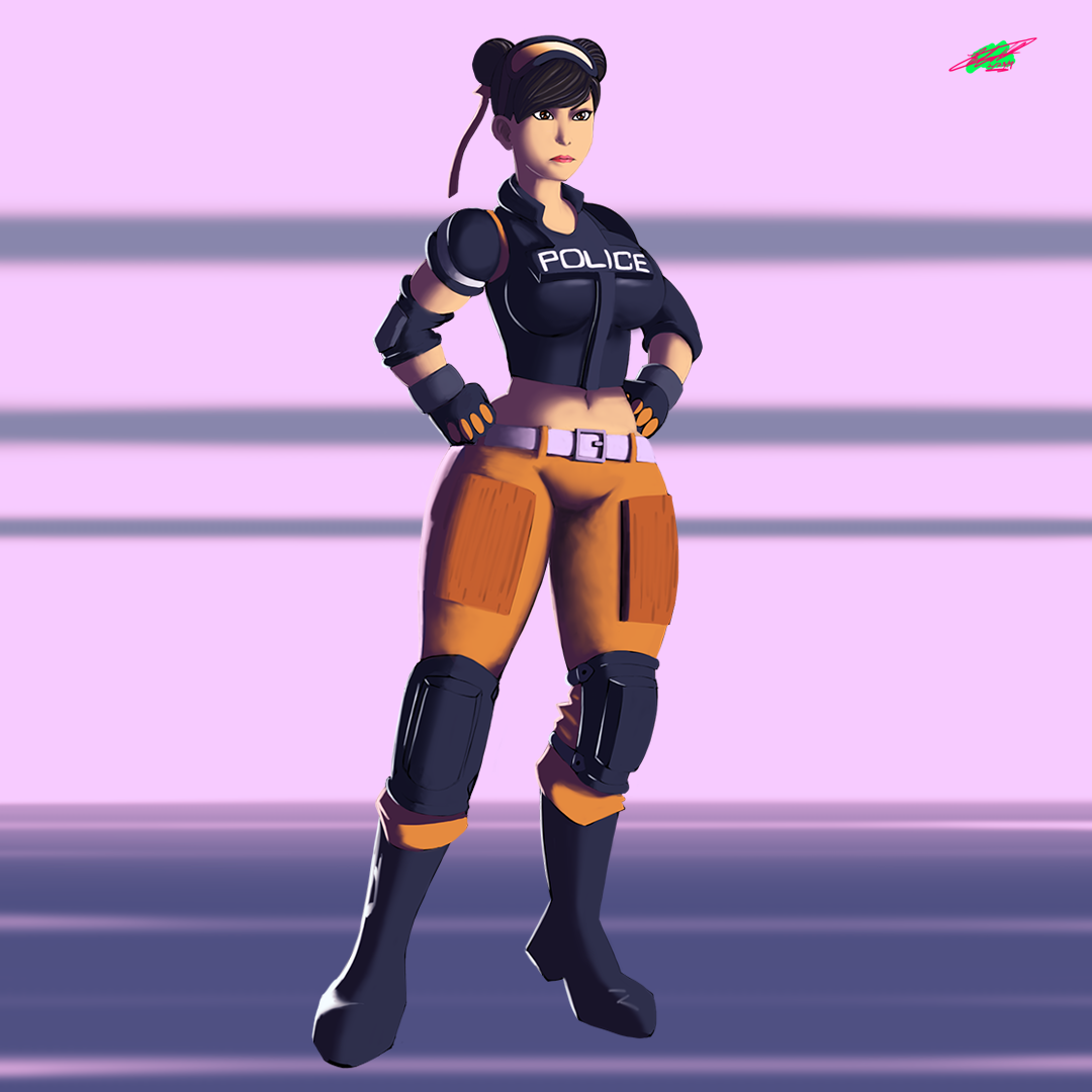 Chun-Li Special Forces 08 | Street Fighter
