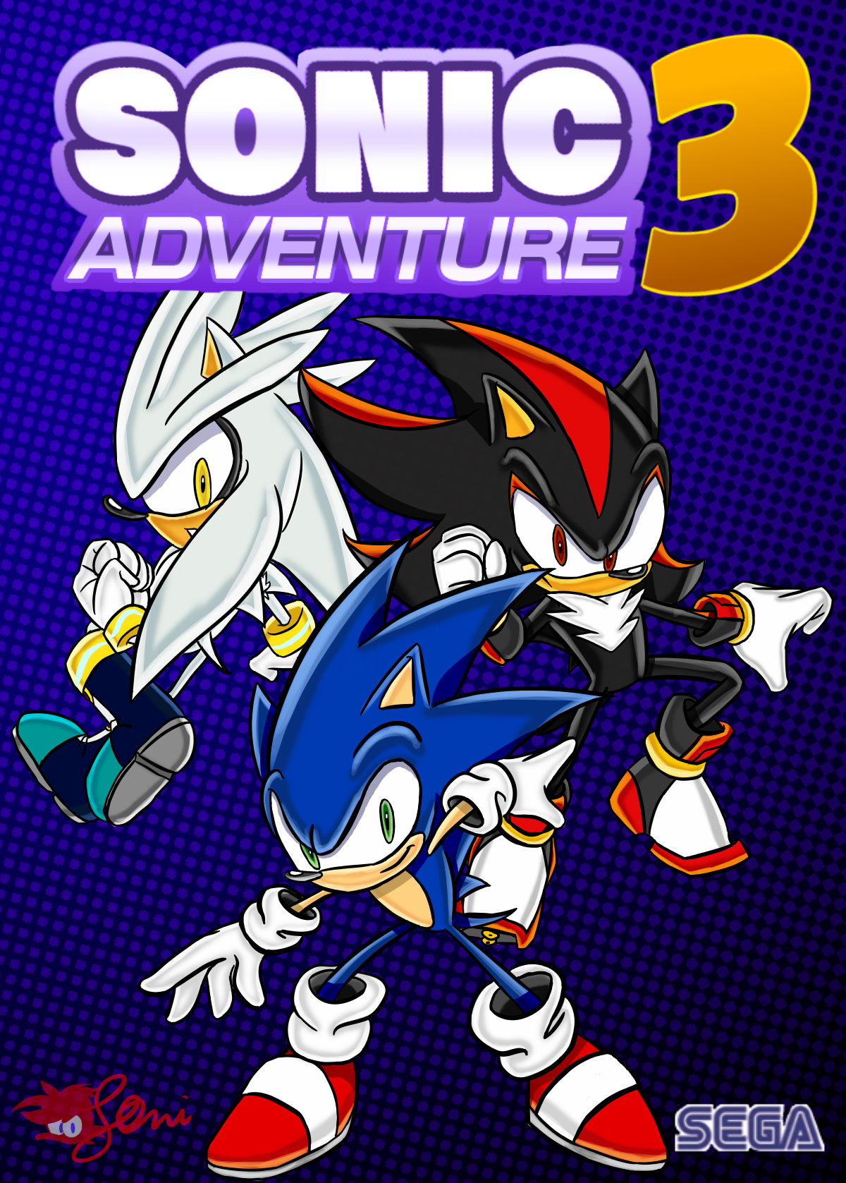 Sonic Adventure 3 - Fake Cover Art by JLuisJoni on Newgrounds