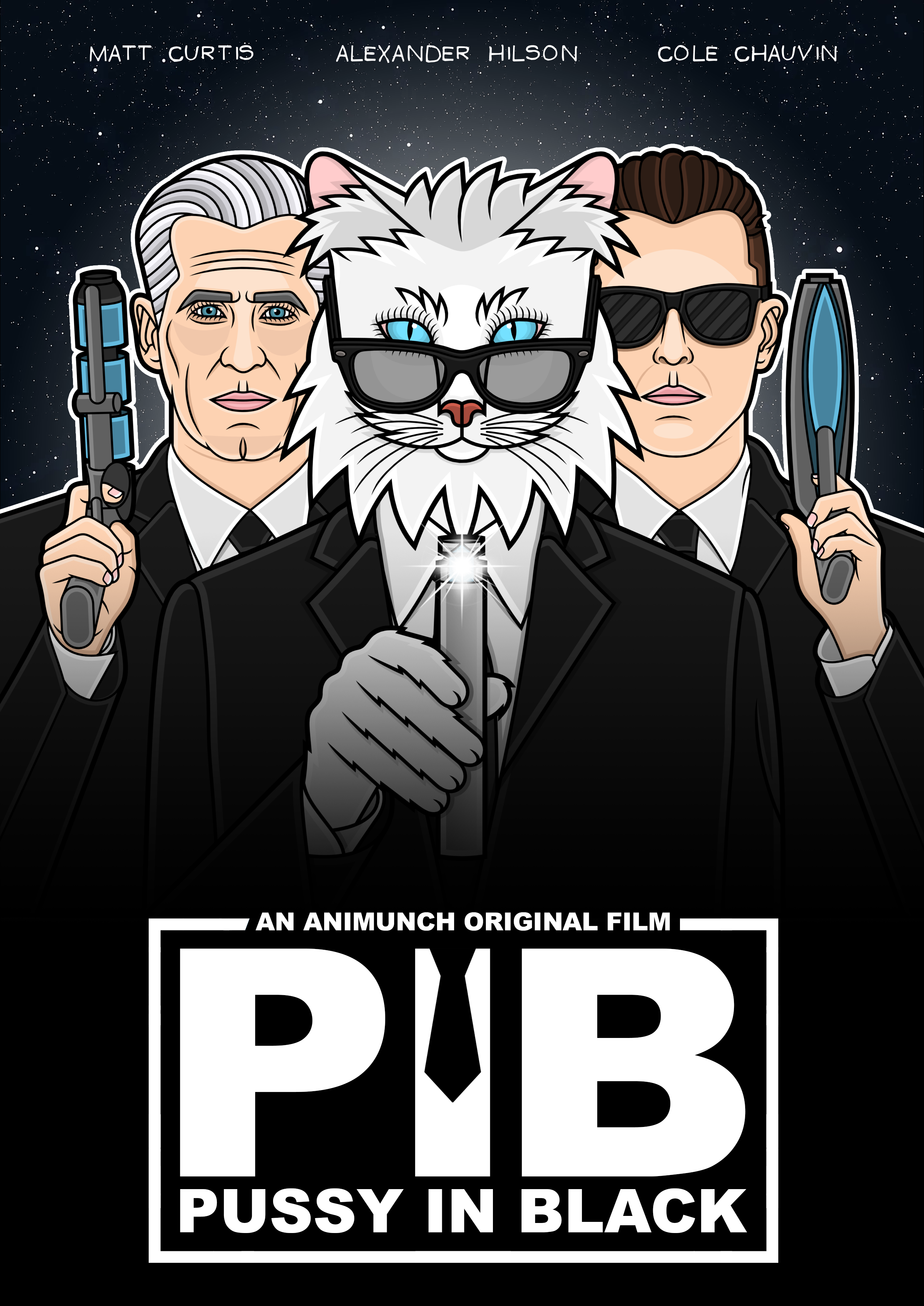 Pussy In Black: Official Poster