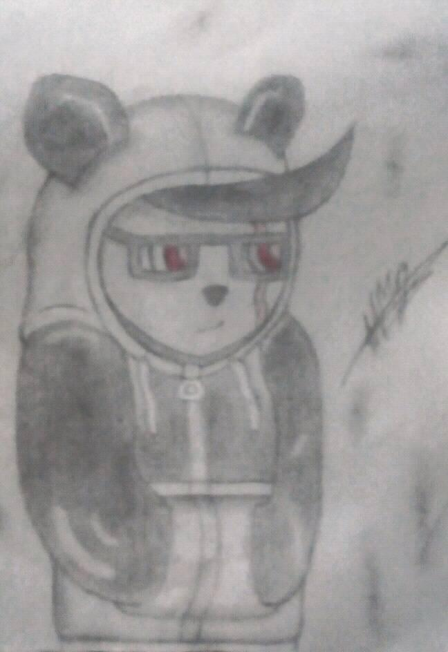 My first drawing on the site