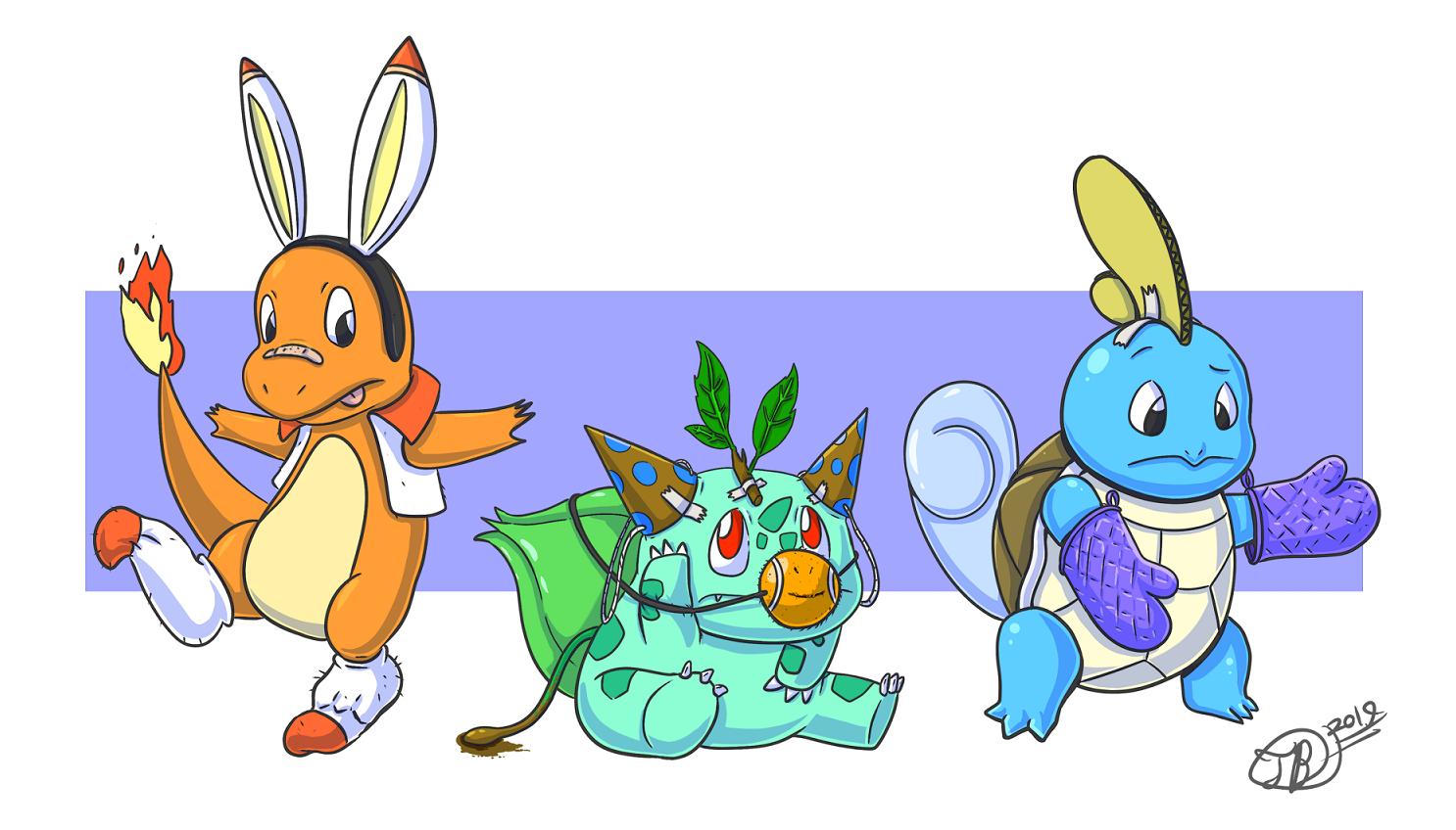 So...heard there were new starter Pokemon