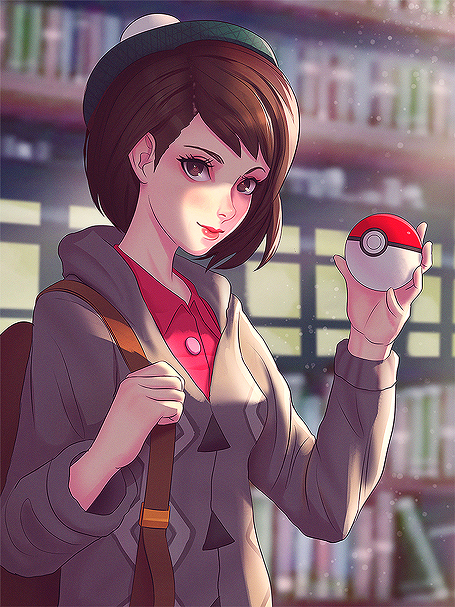 Pokemon Sword And Shield Female Trainer By Lgraniteart On Newgrounds