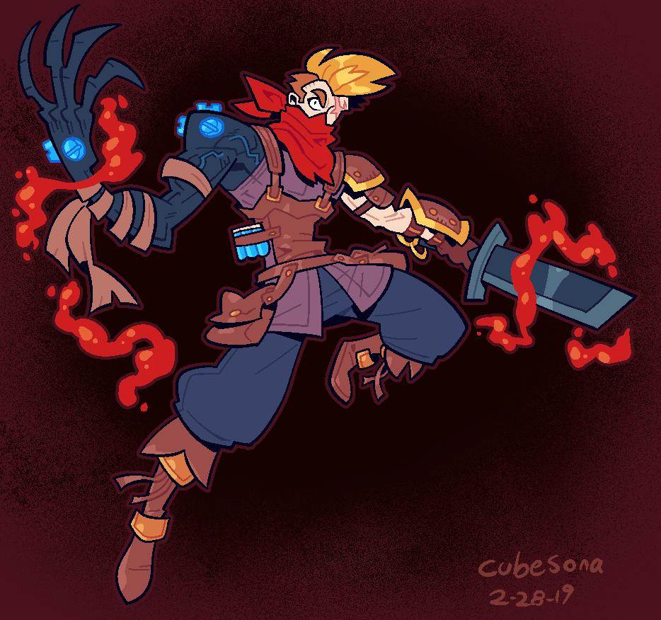 COMMISSION: Alchemist Villain