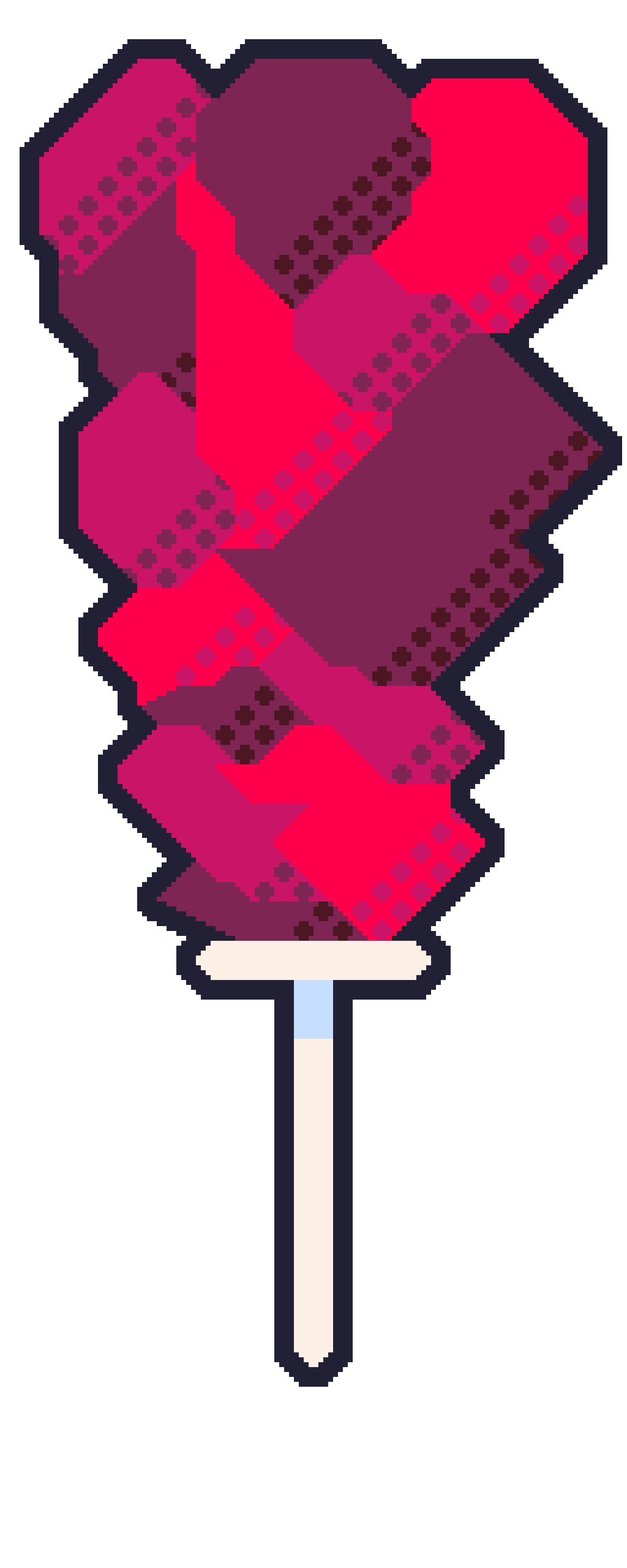 Larger Sprite Size Example: The Sugar Crush
