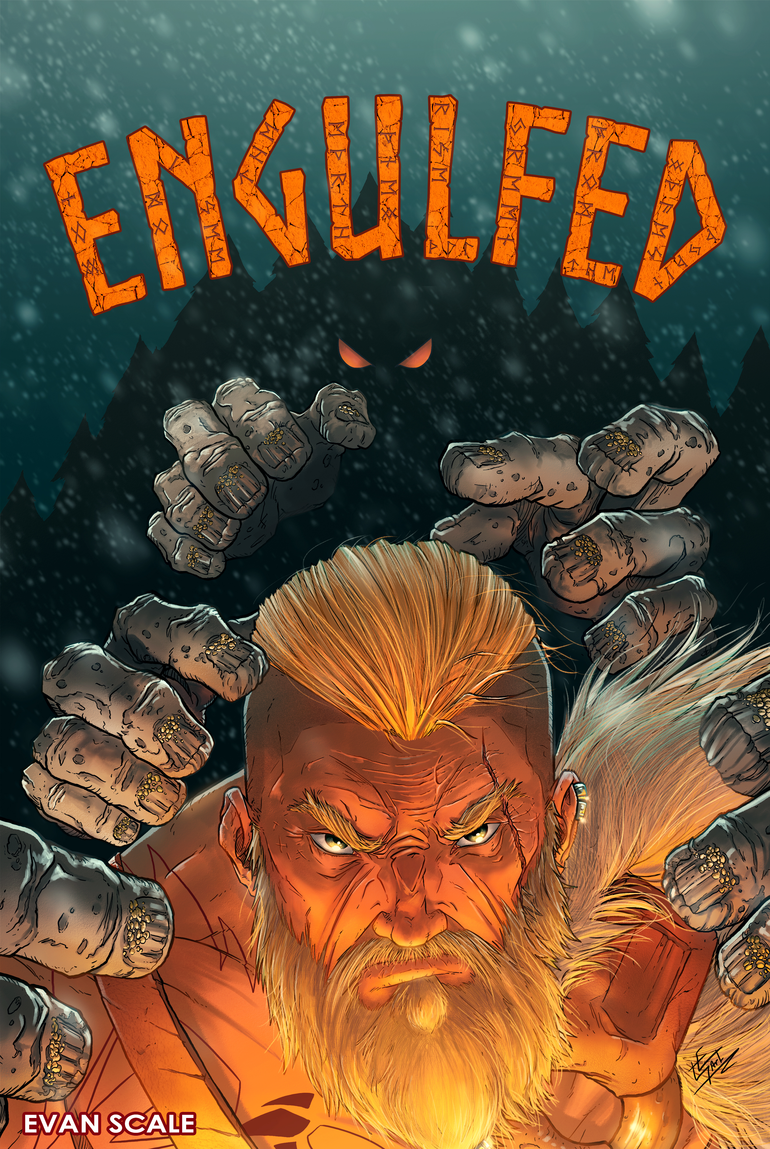 Engulfed - Cover