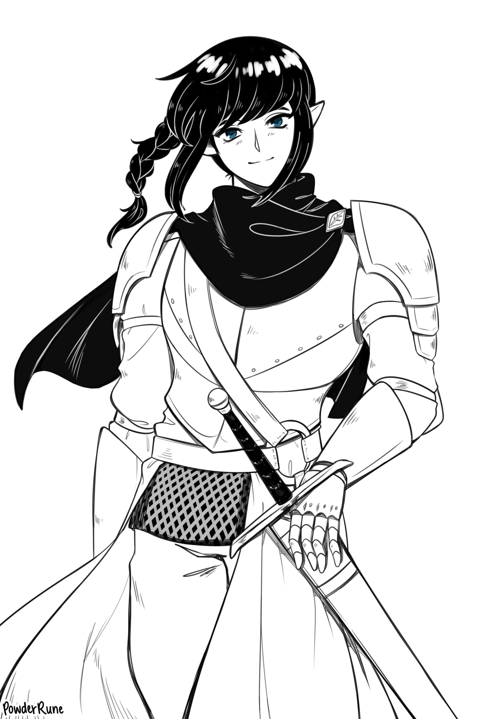 [Commission] Midsummer Knight