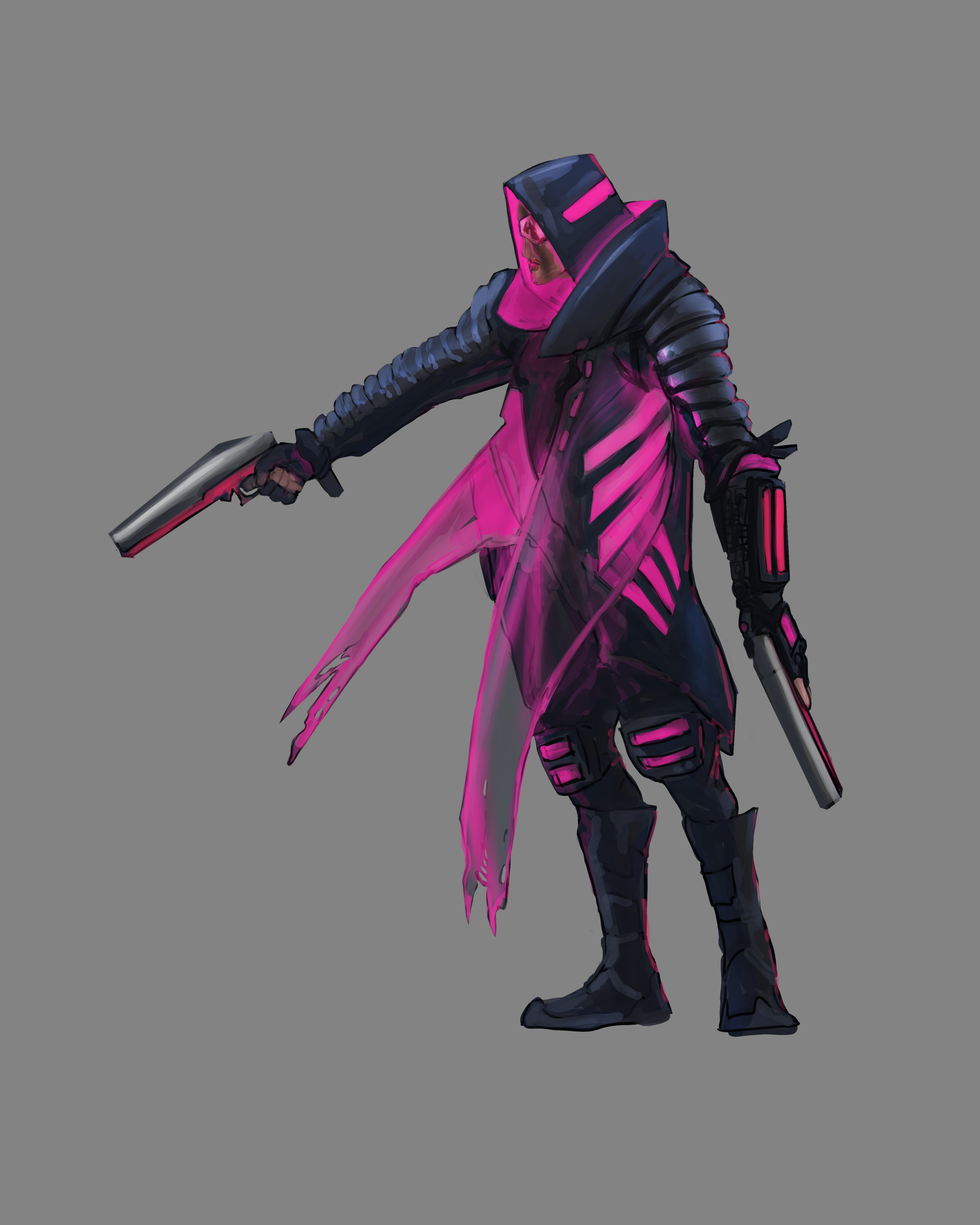 Neon Hunter