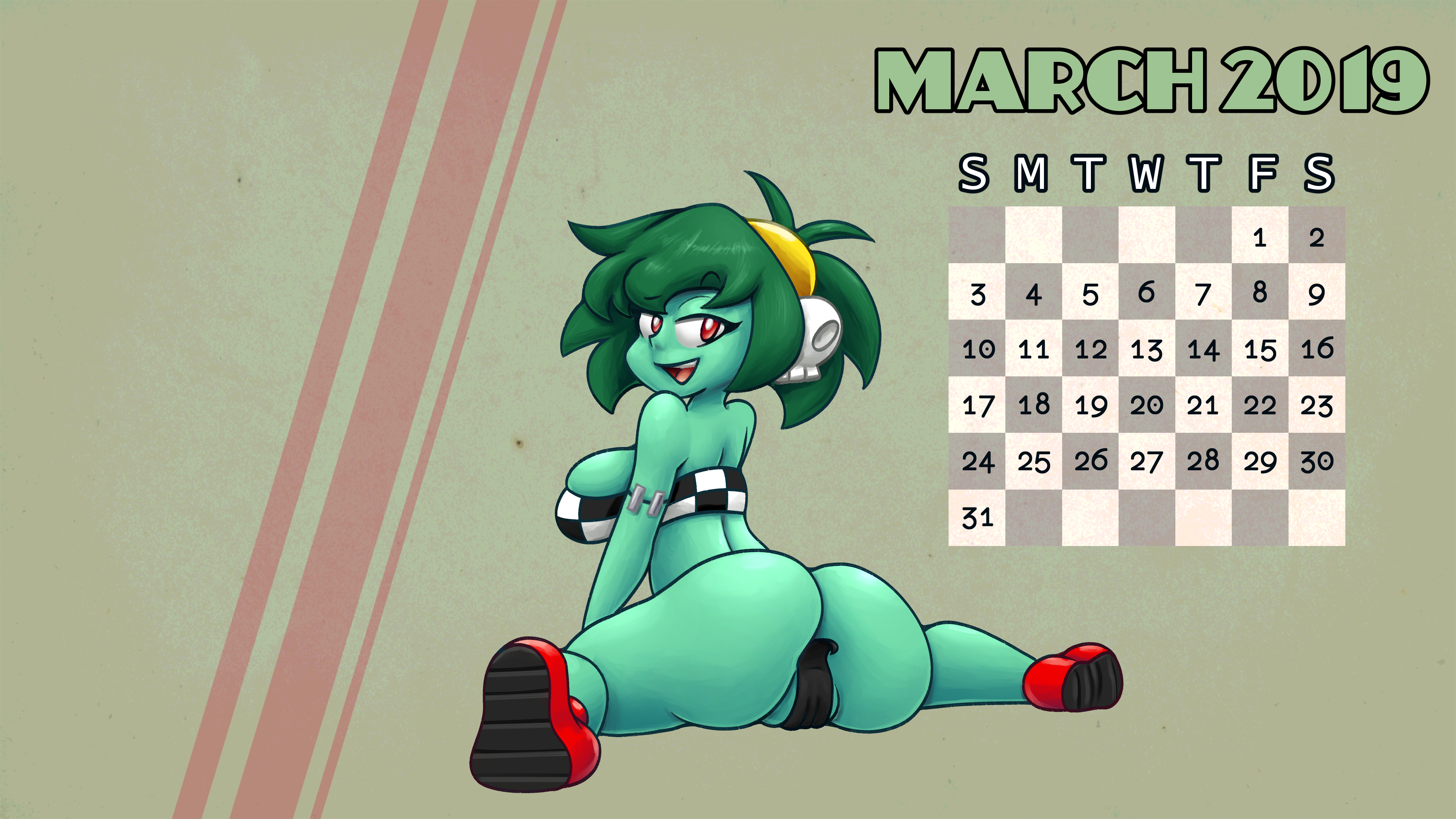 Race Rottytops wallpaper by Skitter-Leaf and Chipposter