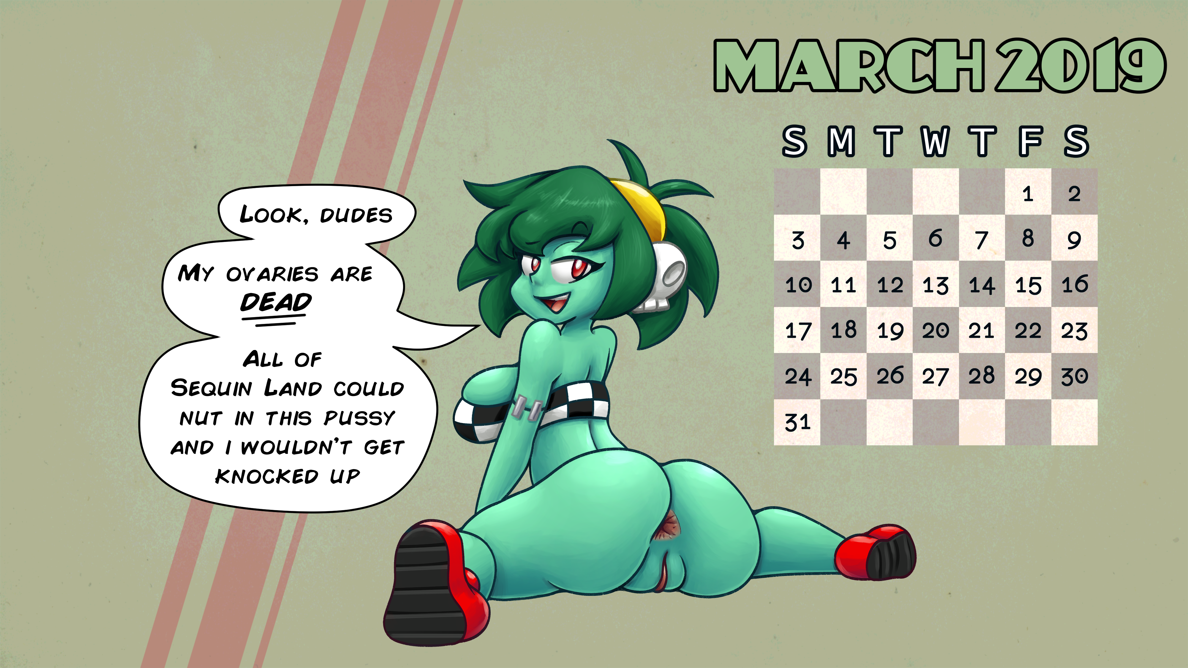 Race Rottytops pit-stop wallpaper by Skitter-Leaf and Chipposter