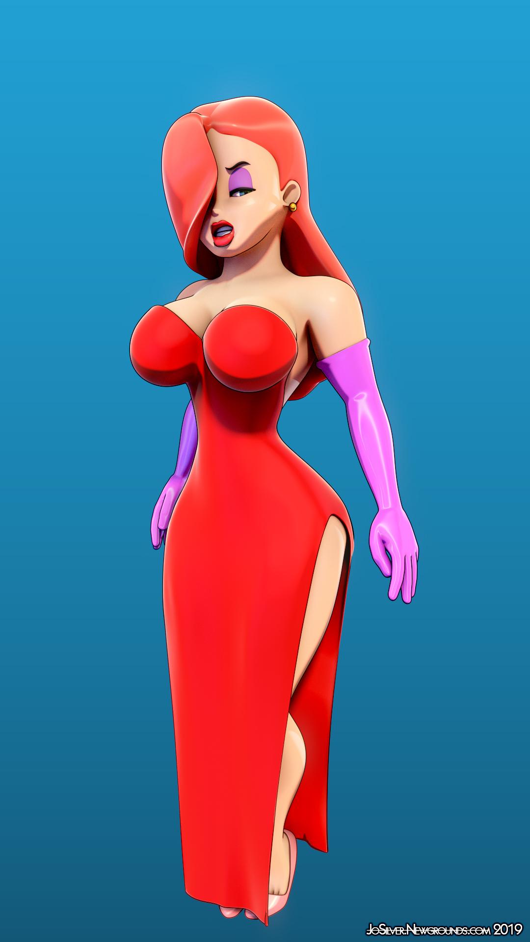 Jessica Rabbit (3D Model, 2019)
