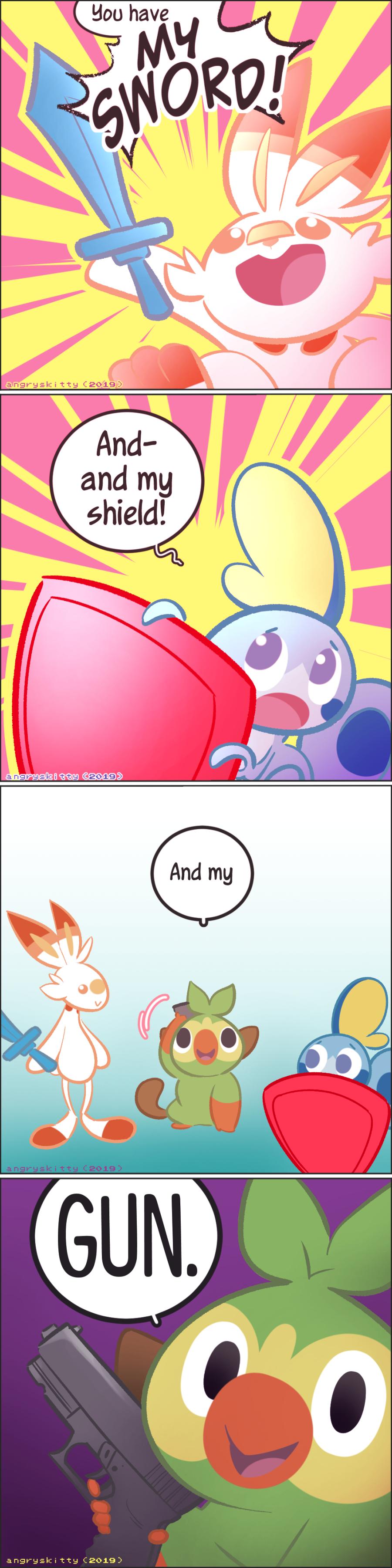 Pokemon Sword And Shield By Angryskitty On Newgrounds