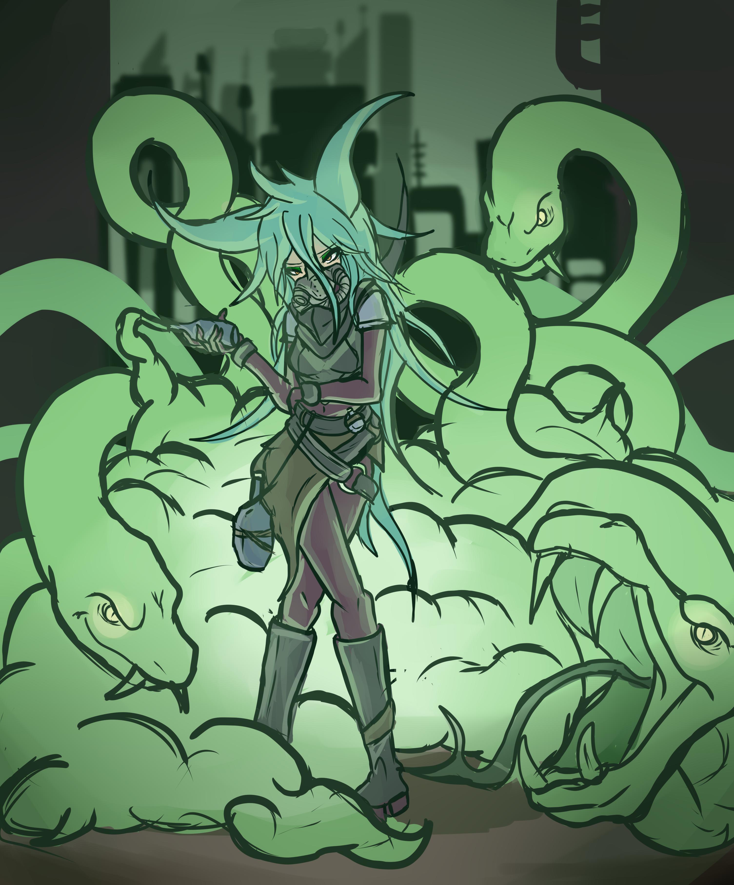 32. Toxic Conjurer