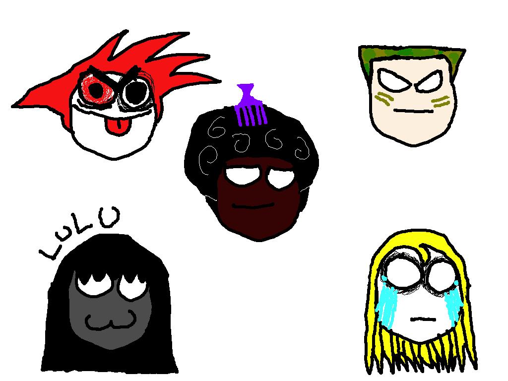 faces practice 1