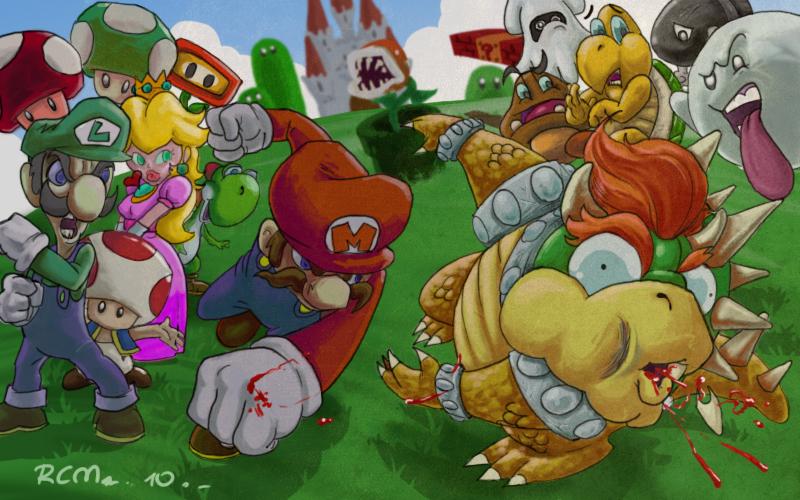 Mario Fan Art