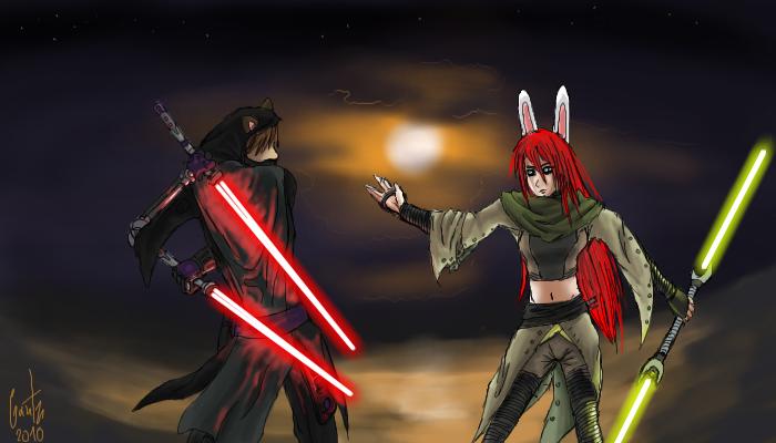 Jedi Showdown